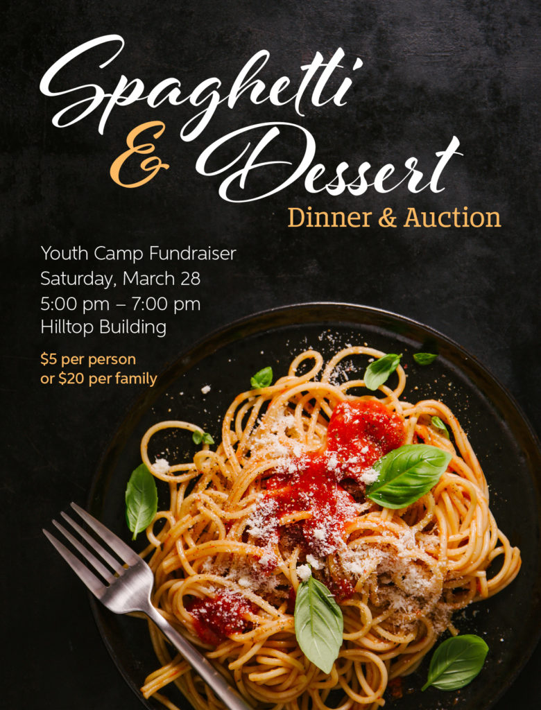 Spaghetti & Dessert poster
