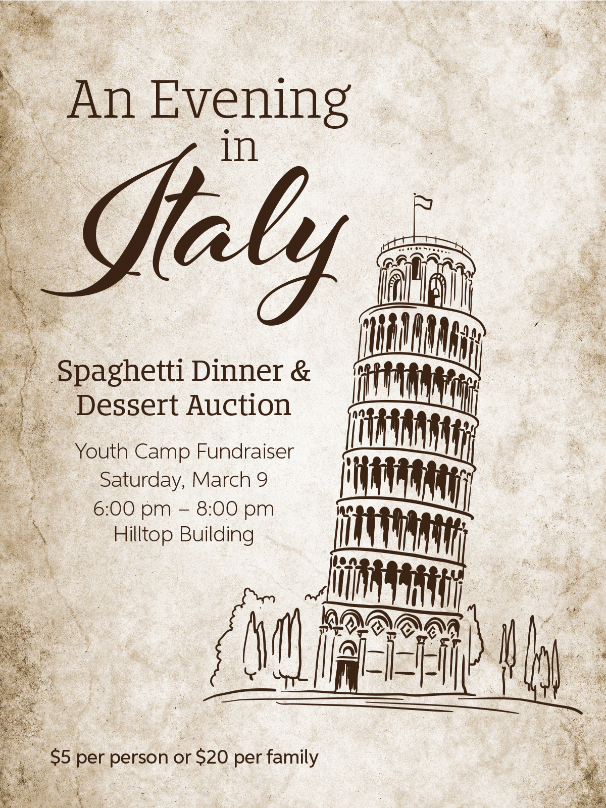 An Evening in Italy poster